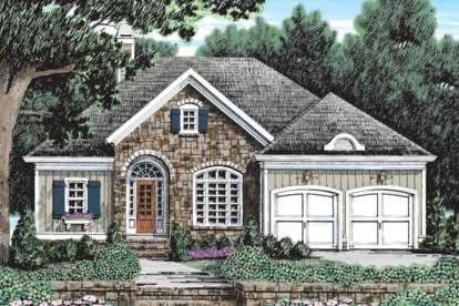 4 Bed, 4 Bath, 3649 Square Foot House Plan - #8594-00391