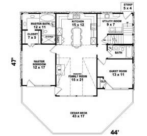 First Floor for House Plan #053-00194