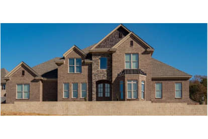 5 Bed, 4 Bath, 3851 Square Foot House Plan - #1070-00284