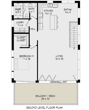 Main Floor for House Plan #940-00183