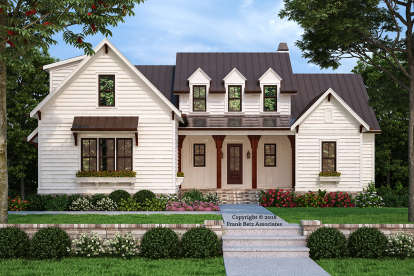 4 Bed, 3 Bath, 2744 Square Foot House Plan - #8594-00414