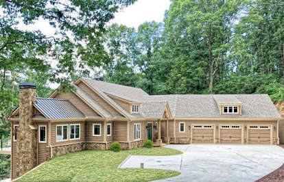 4 Bed, 3 Bath, 5256 Square Foot House Plan - #286-00091