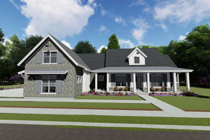 3 Bed, 3 Bath, 2610 Square Foot House Plan - #425-00006