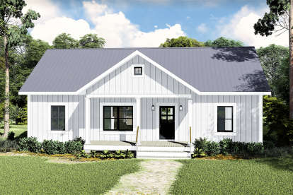 3 Bed, 2 Bath, 1311 Square Foot House Plan #1776-00100