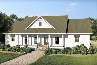 3 Bed, 2 Bath, 2525 Square Foot House Plan - #1776-00102