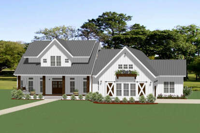 3 Bed, 3 Bath, 2680 Square Foot House Plan - #6849-00088