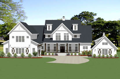 5 Bed, 4 Bath, 5001 Square Foot House Plan #6849-00090