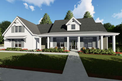 3 Bed, 4 Bath, 2590 Square Foot House Plan - #425-00015