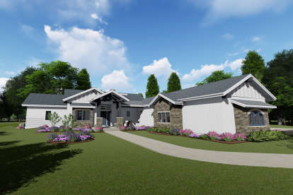 4 Bed, 4 Bath, 4846 Square Foot House Plan - #425-00016