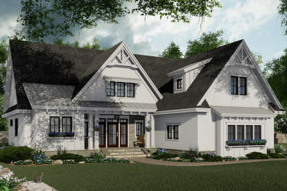 3 Bed, 2 Bath, 2046 Square Foot House Plan - #098-00318