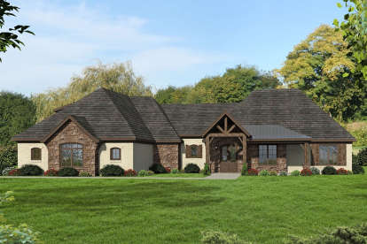 3 Bed, 3 Bath, 4055 Square Foot House Plan - #940-00185