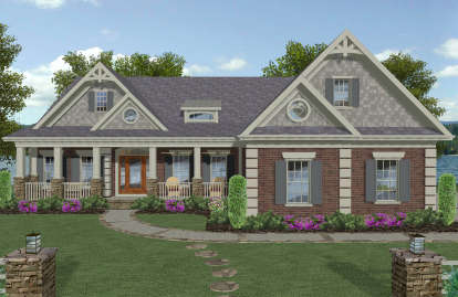 4 Bed, 4 Bath, 2799 Square Foot House Plan #036-00265