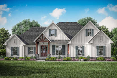 3 Bed, 2 Bath, 2358 Square Foot House Plan #041-00198