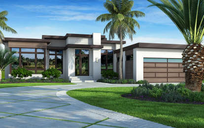 3 Bed, 3 Bath, 3083 Square Foot House Plan - #207-00084