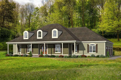 4 Bed, 4 Bath, 3480 Square Foot House Plan - #940-00190