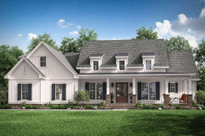 3 Bed, 2 Bath, 2570 Square Foot House Plan #041-00199