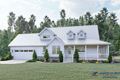 3 Bed, 2 Bath, 2123 Square Foot House Plan #940-00191