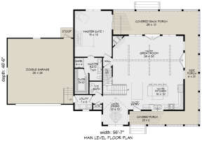 Main Floor for House Plan #940-00191