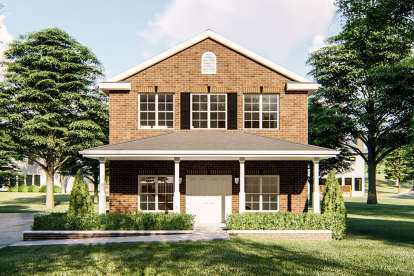 1 Bed, 1 Bath, 1215 Square Foot House Plan - #963-00351