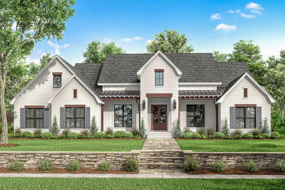 4 Bed, 3 Bath, 2751 Square Foot House Plan - #041-00201