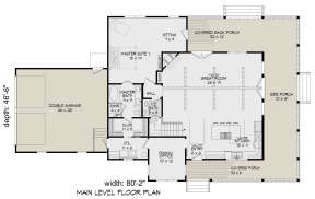 Main Floor for House Plan #940-00195