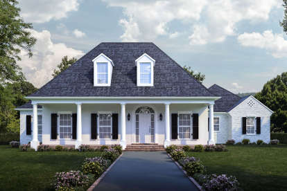 4 Bed, 3 Bath, 2963 Square Foot House Plan - #7516-00044