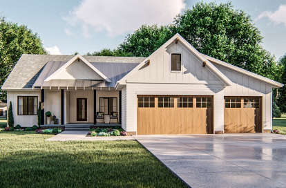 3 Bed, 2 Bath, 1814 Square Foot House Plan - #963-00367