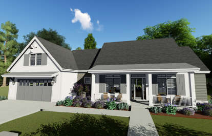 3 Bed, 3 Bath, 2576 Square Foot House Plan - #425-00020