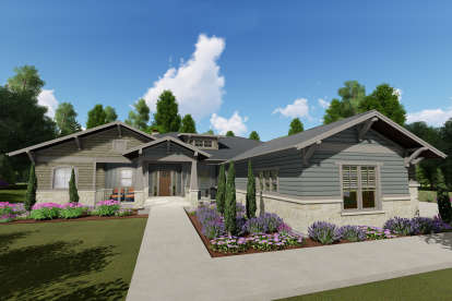 4 Bed, 3 Bath, 3893 Square Foot House Plan - #425-00022