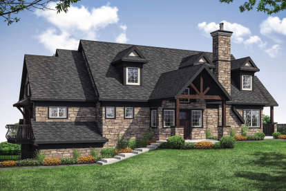 1 Bed, 1 Bath, 1802 Square Foot House Plan - #035-00850
