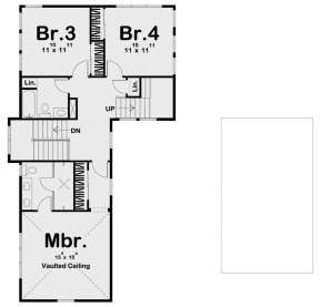 Second Floor for House Plan #963-00374