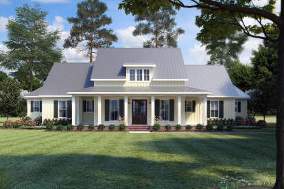 3 Bed, 2 Bath, 2435 Square Foot House Plan #4534-00019