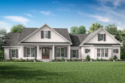 4 Bed, 3 Bath, 2832 Square Foot House Plan #041-00204