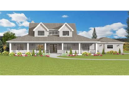 4 Bed, 3 Bath, 2934 Square Foot House Plan #3125-00027
