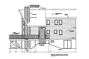 Cabin House Plan #033-00132 Elevation Photo