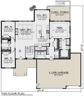 Main Floor for House Plan #1020-00343