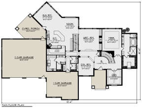 Main Floor for House Plan #1020-00355