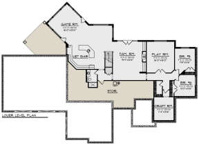 Basement for House Plan #1020-00355