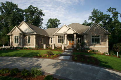 4 Bed, 3 Bath, 7209 Square Foot House Plan - #1020-00356