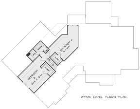 Second Floor for House Plan #6082-00179