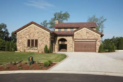 4 Bed, 3 Bath, 3547 Square Foot House Plan - #1020-00362