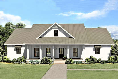 3 Bed, 2 Bath, 2582 Square Foot House Plan - #1776-00106