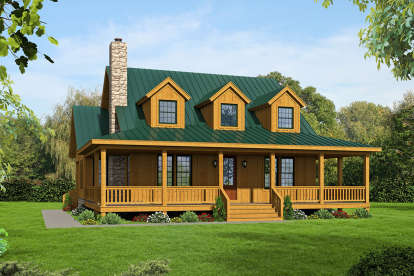 3 Bed, 3 Bath, 2271 Square Foot House Plan - #940-00197