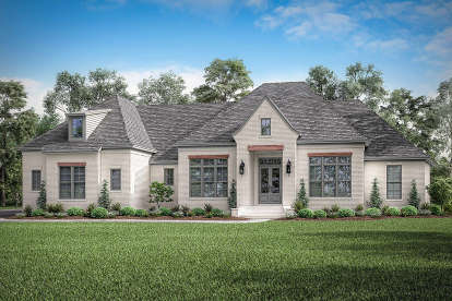 4 Bed, 2 Bath, 3032 Square Foot House Plan #041-00205