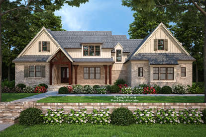 4 Bed, 4 Bath, 2911 Square Foot House Plan #8594-00419
