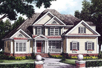 4 Bed, 3 Bath, 2730 Square Foot House Plan #8594-00427