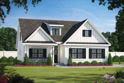 4 Bed, 3 Bath, 2114 Square Foot House Plan - #402-01629