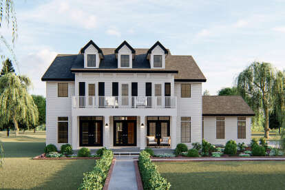 4 Bed, 3 Bath, 3121 Square Foot House Plan #963-00381