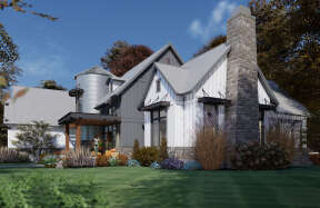 Modern Farmhouse House Plan #9401-00107 Elevation Photo