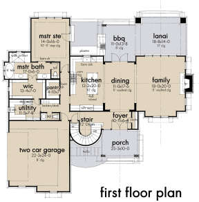 Main Floor for House Plan #9401-00107